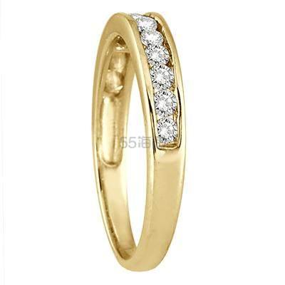 SZUL 1/2克拉钻石10k黄金戒指 7(约1,230元) - 海淘优惠海淘折扣 55海淘网
