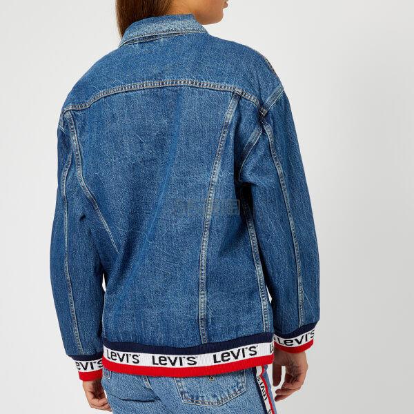 免郵 Levis Baggy 女士串標下擺牛仔夾克 £63(約560元) - 海淘優惠海淘折扣|55海淘網