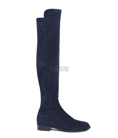 STUART WEITZMAN 绒面过膝靴 四色可选 9(约3,171元) - 海淘优惠海淘折扣|55海淘网