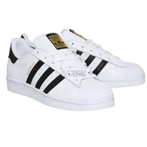 降价!大热款~Adidas 阿迪达斯 Superstar 金标贝壳头运动鞋 £35(约304元) - 海淘优惠海淘折扣|55海淘网