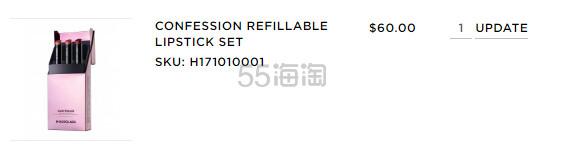 【补货】Hourglass 圣诞限量极细烟管唇膏 3支套装 (约412元) - 海淘优惠海淘折扣|55海淘网