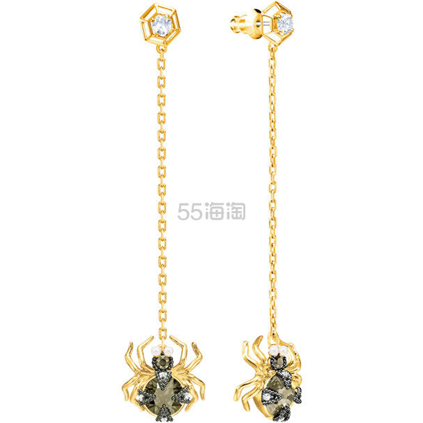 Swarovski Magnetic 蜘蛛耳链耳环 £55(约476元) - 海淘优惠海淘折扣 55海淘网