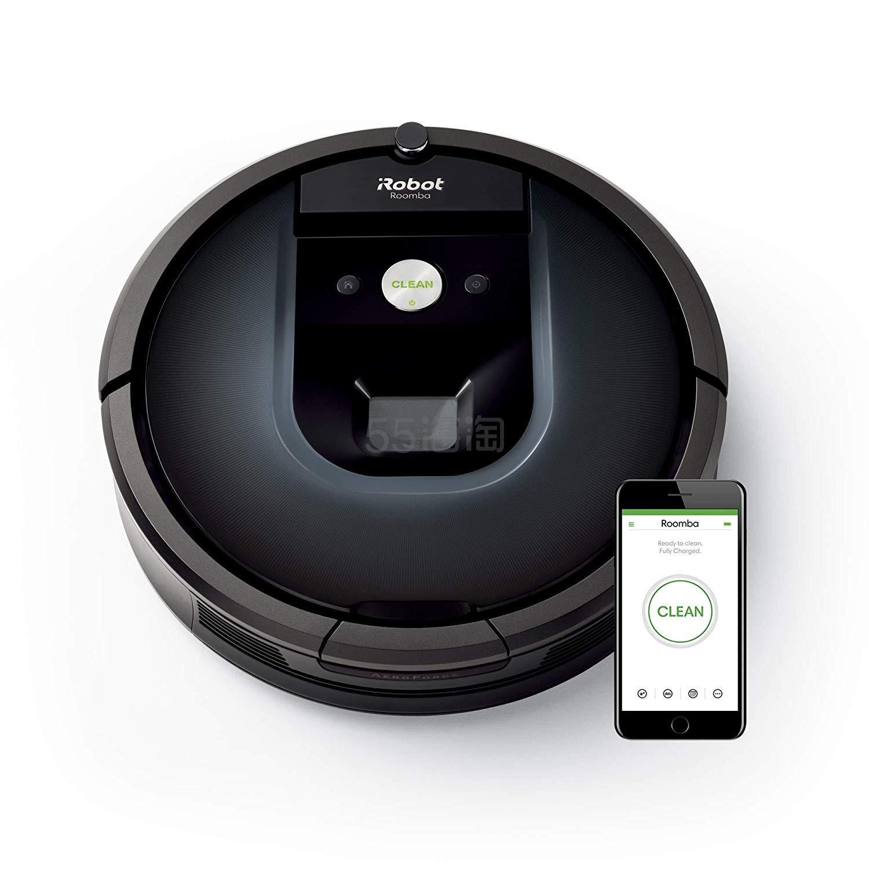 低价!【中亚Prime会员】iRobot Roomba 981 全自动智能扫地机器人 带APP控制 到手价3293元 - 海淘优惠海淘折扣|55海淘网