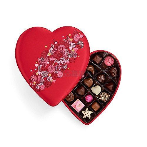 【2019情人节限定款】Godiva 歌帝梵 红色中国风丝绸刺绣巧克力礼盒 25颗 .95(约515元) - 海淘优惠海淘折扣|55海淘网