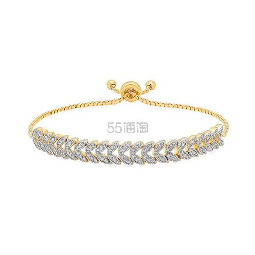 SZUL 镀金钻石可调节手链 (约130元) - 海淘优惠海淘折扣 55海淘网