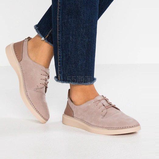 【中亚Prime会员】Clarks 其乐 Hale Lace 女士牛皮休闲鞋 到手价253元 - 海淘优惠海淘折扣|55海淘网