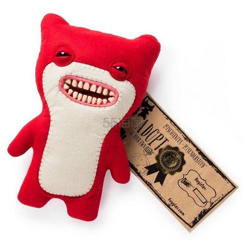 【买1送1】Fuggler 丑萌艺术玩偶 红色笨熊 .49(约85元) - 海淘优惠海淘折扣 55海淘网