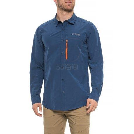 大码福利!Columbia 哥伦比亚 Featherweight Hike 男款户外徒步衬衫 .99(约276元) - 海淘优惠海淘折扣|55海淘网