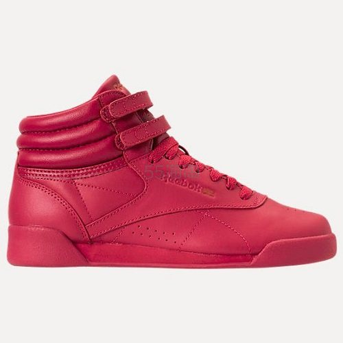 Reebok 锐步 Freestyle Hi 复古运动鞋 大童款 (约170元) - 海淘优惠海淘折扣|55海淘网