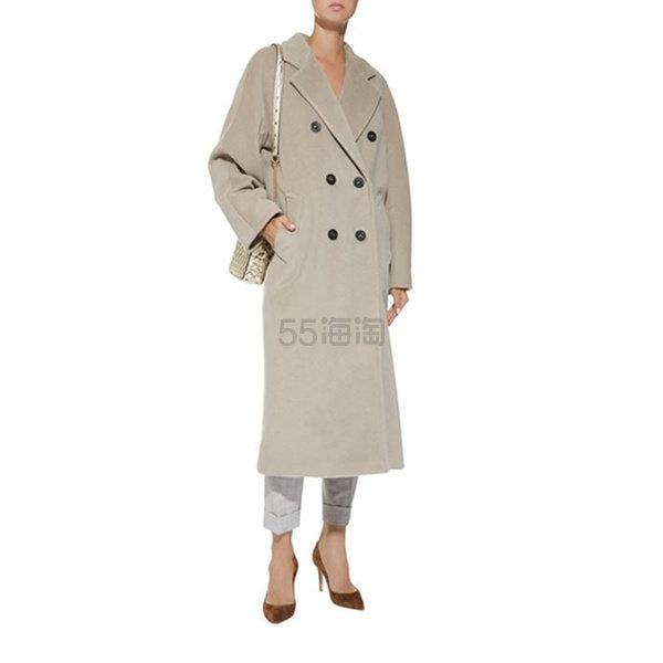 Max Mara Madame 双排扣腰带中长款羊绒羊毛大衣 ,840.42(约19,277元) - 海淘优惠海淘折扣|55海淘网