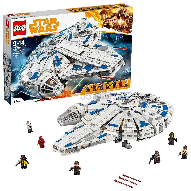 LEGO 乐高 STAR WARS 星球大战 75212 神速千年隼 4.99(约822元) - 海淘优惠海淘折扣 55海淘网