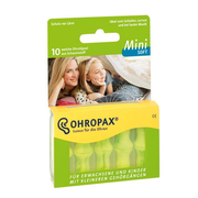 提升幸福感小物!Ohropax mini soft 防噪睡眠耳塞 10只装
