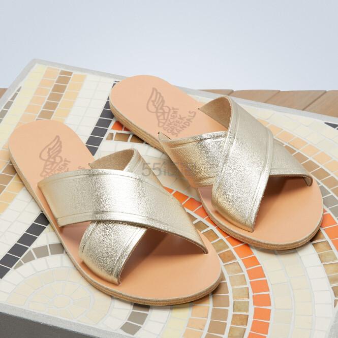 38码有货~ Ancient Greek Sandals 金色拖鞋 ¥685 - 海淘优惠海淘折扣 55海淘网