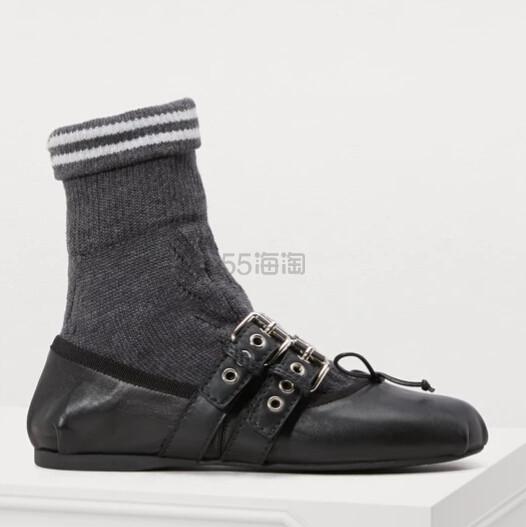 389码有货~Miu Miu Sock ballet pumps 连袜芭蕾舞平底鞋 ¥1,928 - 海淘优惠海淘折扣|55海淘网