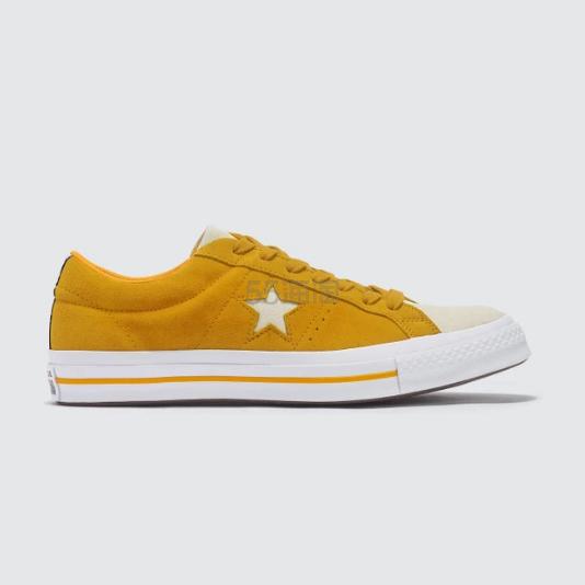 CONVERSE One Star 匡威黄色帆布鞋 (约291元) - 海淘优惠海淘折扣|55海淘网