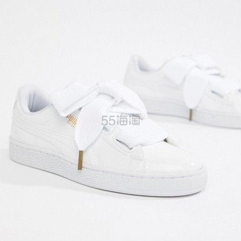 【大表姐同款】Puma  Basket Heart  彪马白色运动鞋 ¥264.86 - 海淘优惠海淘折扣|55海淘网