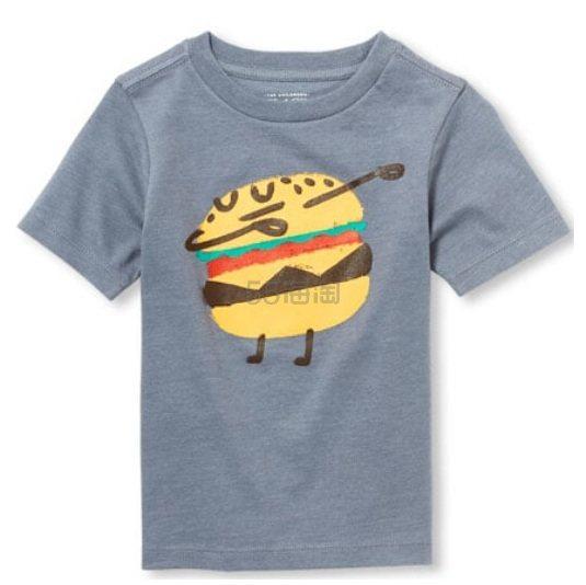 白菜价~The Childrens Place 童款T恤衫 .9(约13元) - 海淘优惠海淘折扣|55海淘网