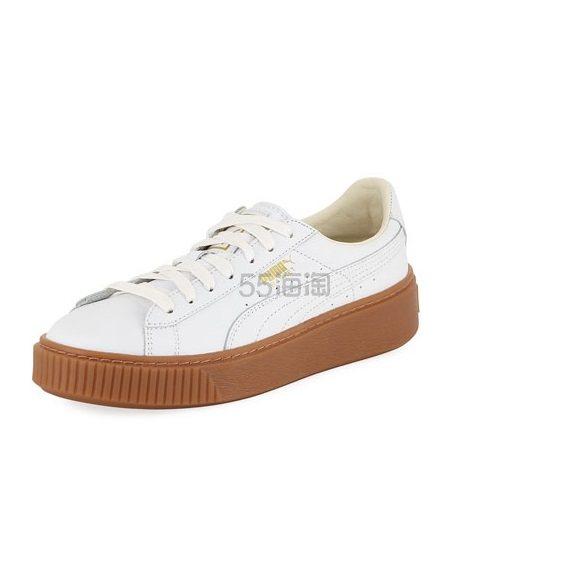 Puma 彪马白色厚底运动鞋 .25(约399元) - 海淘优惠海淘折扣|55海淘网