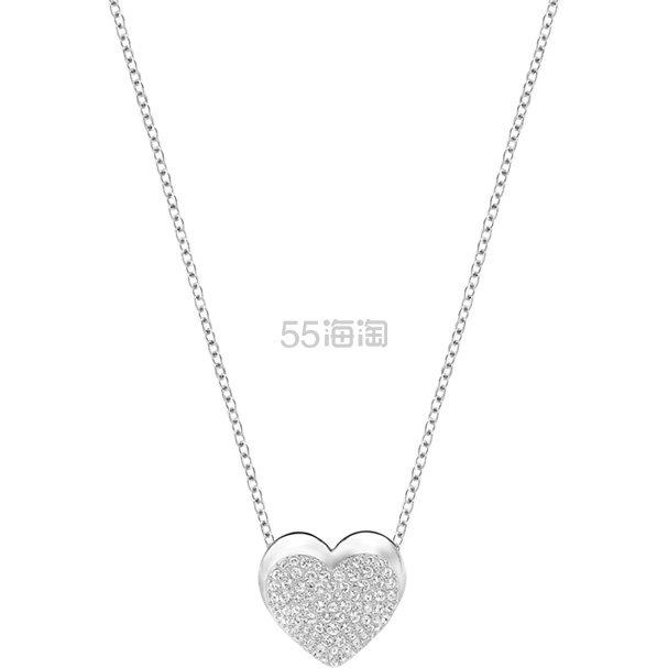 Swarovski 施华洛世奇水晶爱心项链 £42.5(约377元) - 海淘优惠海淘折扣|55海淘网