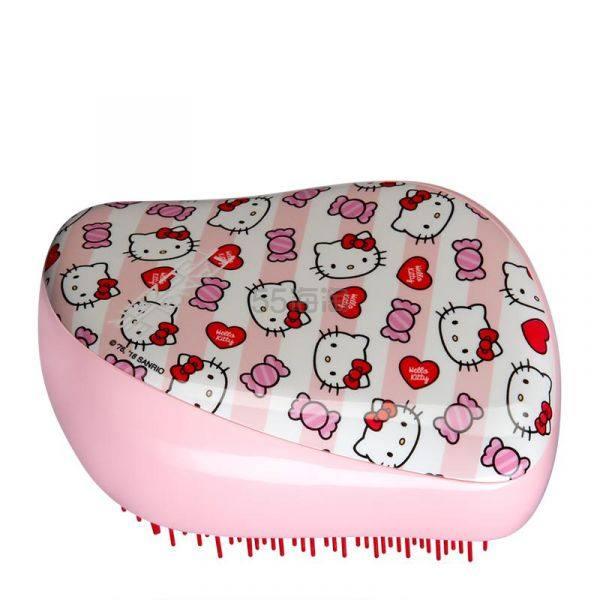 买3付2!Tangle Teezer TT梳 专业解结美发梳子 豪华便携款 - 凯蒂猫糖果条纹 £13.5(约120元) - 海淘优惠海淘折扣|55海淘网