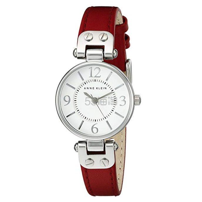 【中亚Prime会员】Anne Klein 安妮克莱因 10/9442 女士红色时尚手表 到手价249元 - 海淘优惠海淘折扣|55海淘网