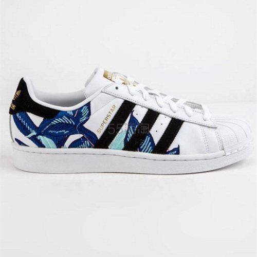 4.2折!Adidas 阿迪达斯 Superstar 花卉贝壳头运动鞋 .48(约286元) - 海淘优惠海淘折扣|55海淘网