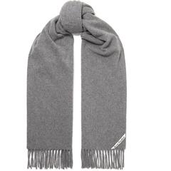 ACNE STUDIOS Canada 流苏羊毛围巾