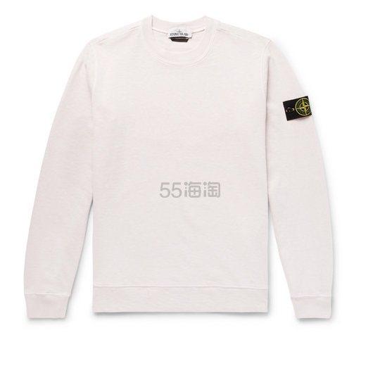 STONE ISLAND 白色卫衣 £190(约1,657元) - 海淘优惠海淘折扣 55海淘网