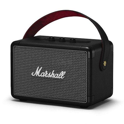 低价1【中亚Prime会员】Marshall 马歇尔 Kilburn II 便携式无线蓝牙音箱 黑色