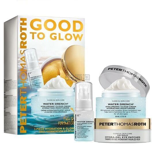 价值0!Peter Thomas Roth 彼得罗夫 新品Good To Glow护肤套装 (约440元) - 海淘优惠海淘折扣|55海淘网