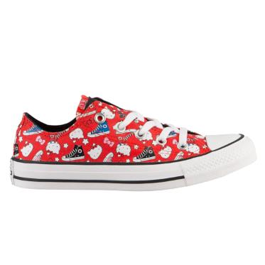 【码全】Converse 匡威 All Star Hello Kitty 大童款帆布鞋