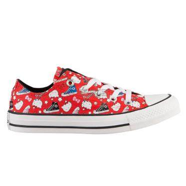 【码全】Converse 匡威 All Star Hello Kitty 大童款帆布鞋 .99(约371元) - 海淘优惠海淘折扣|55海淘网
