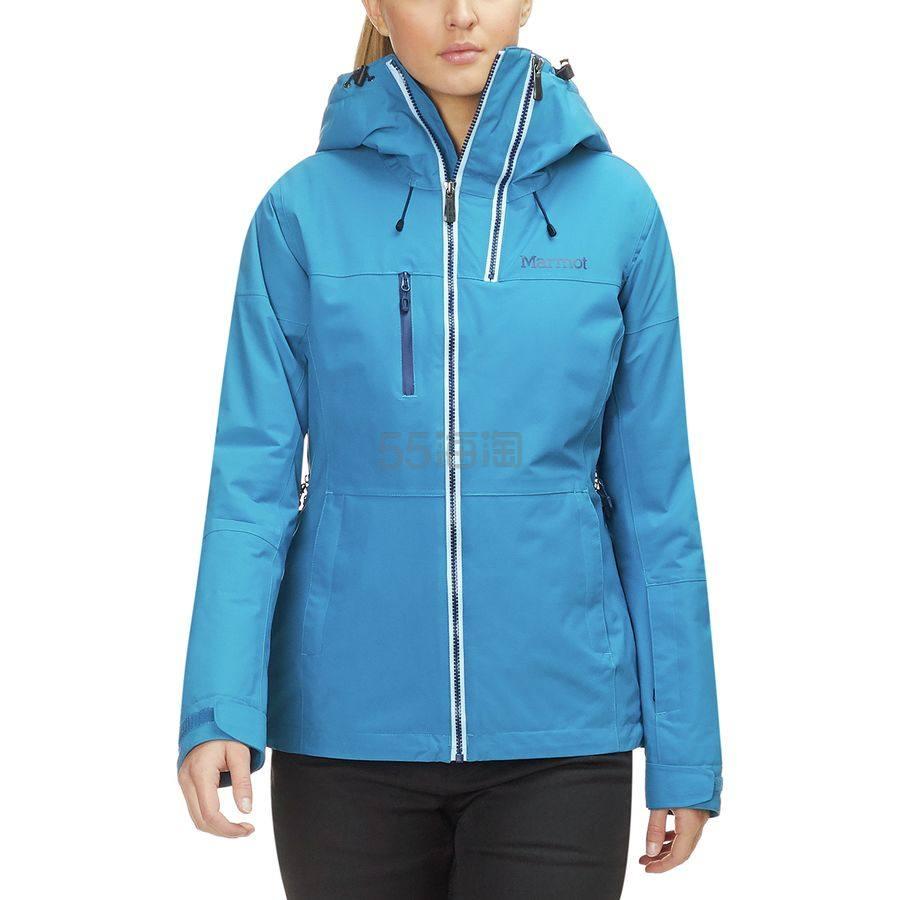 码全三色可选~Marmot 土拨鼠 Dropway 女款冲锋衣夹克 9.98(约856元) - 海淘优惠海淘折扣|55海淘网