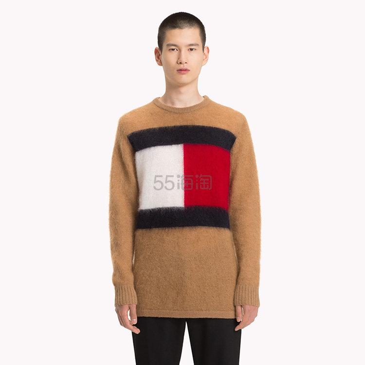 Tommy Hilfiger 羊毛复古 logo 男士毛衣 9.99(约1,208元) - 海淘优惠海淘折扣|55海淘网