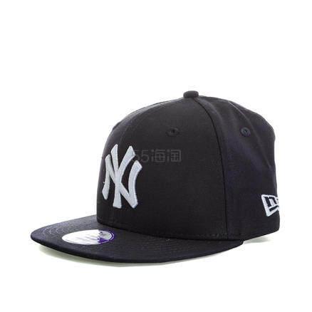 【额外8.3折】New Era 洋基队 9Fifty 系列 男童平檐棒球帽 £6.09(约53元) - 海淘优惠海淘折扣|55海淘网