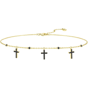 Swarovski Cross 十字架 Chocker 项链