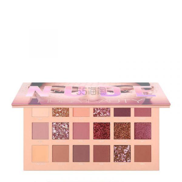 限购两盘!Huda Beauty 裸妆18色眼影盘 £56(约497元) - 海淘优惠海淘折扣|55海淘网