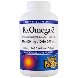 【9折+额外再9折+10%忠诚奖励】Natural Factors Rx Omega-3 630mg 240粒 .47(约258元) - 海淘优惠海淘折扣|55海淘网
