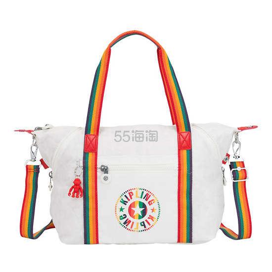 上新!Kipling Art 彩虹条手提包 (约664元) - 海淘优惠海淘折扣|55海淘网