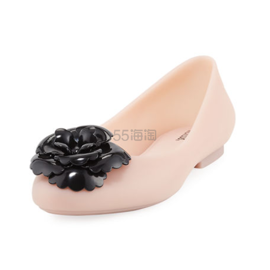 Melissa 粉色果冻芭蕾平底鞋 .4(约204元) - 海淘优惠海淘折扣 55海淘网