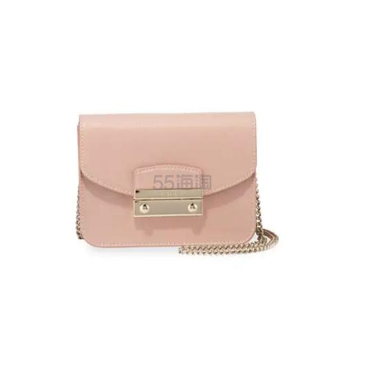 【存货不多】Furla Julia 粉色迷你包包 7.5(约788元) - 海淘优惠海淘折扣 55海淘网