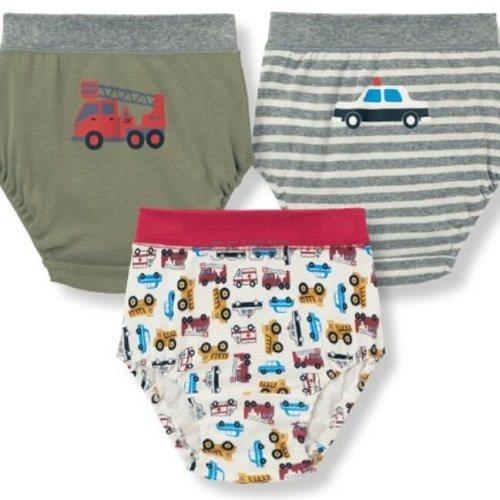 GITA 男童印花纯棉内裤 3个装 990日元(约60元) - 海淘优惠海淘折扣|55海淘网
