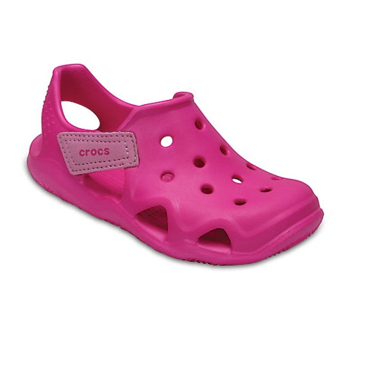 Crocs Kids' Swiftwater™ Wave 儿童洞洞凉鞋