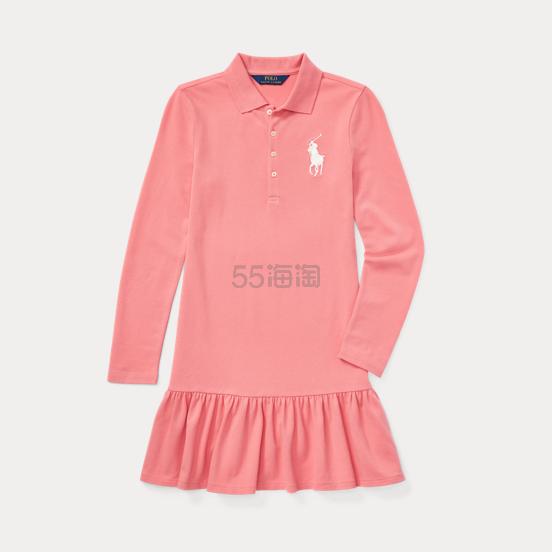 Ralph Lauren 大童款粉色 POLO 连衣裙 .99(约101元) - 海淘优惠海淘折扣|55海淘网