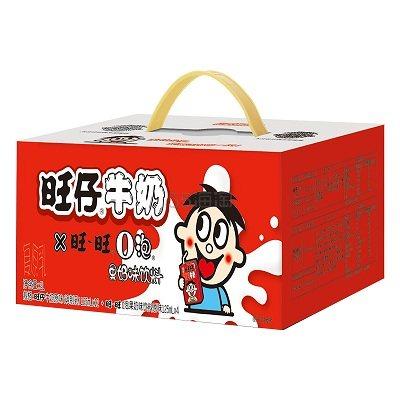 【返利14.4%】旺旺 旺仔牛奶+O泡果奶組合 125ml*16盒 88VIP到手價33元 - 海淘優惠海淘折扣|55海淘網