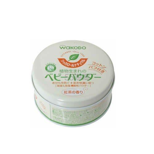 【日亚自营】【加购适用】Wakodo 和光堂 爽身粉 红茶香味 120g
