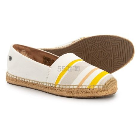 UGG Australia Renada 条纹草编鞋