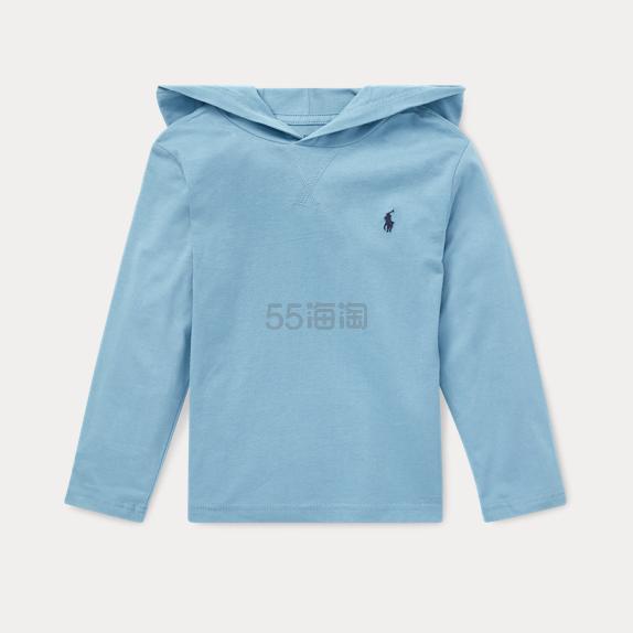 Ralph Lauren 大童款天蓝色长袖 .99(约148元) - 海淘优惠海淘折扣|55海淘网