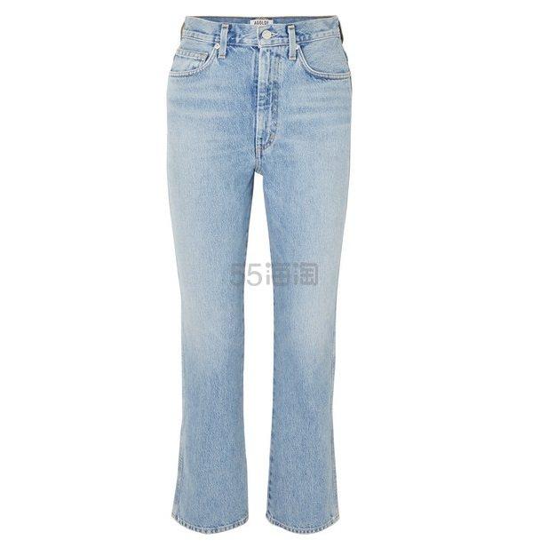 AGOLDE Pinch Waist 高腰直筒牛仔裤 7.85(约1,264元) - 海淘优惠海淘折扣 55海淘网