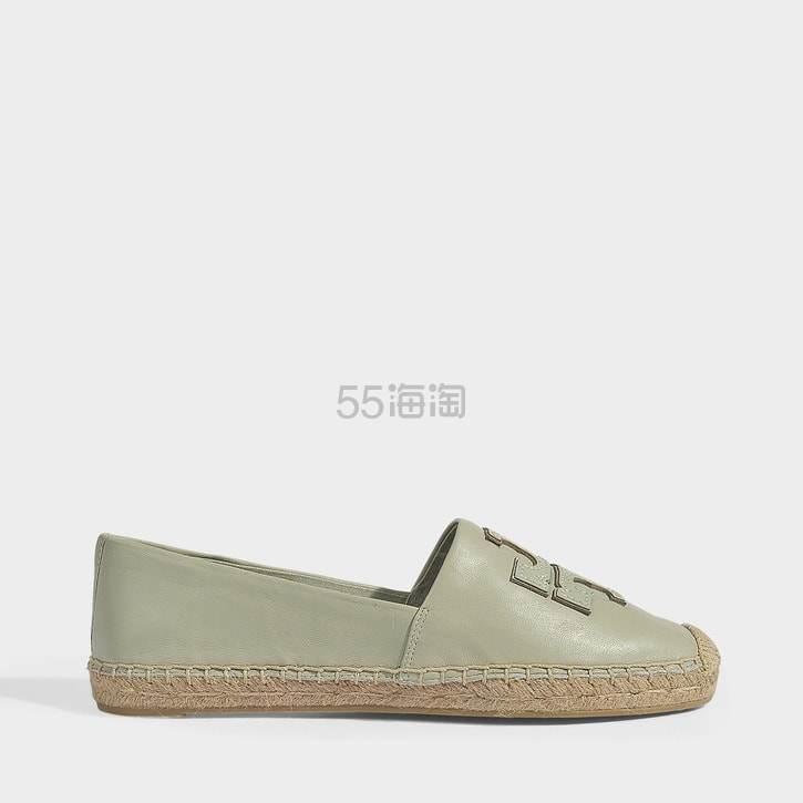 Tory Burch 基础款新配色抹茶绿渔夫鞋 4(约815元) - 海淘优惠海淘折扣|55海淘网